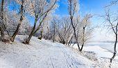 Winter embankment