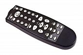 Remote Control Isolated On The White