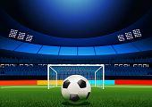 foto of football pitch  - Penalty Shootout - JPG