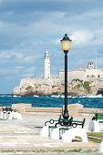 The castle of El Morro, a symbol of the city of Havana