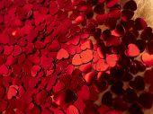 hearts confetti