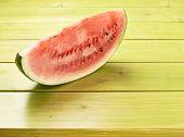 Watermelon slice composition