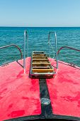 View From The Font Of A Small Yacht,