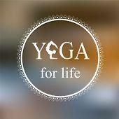 foto of yoga silhouette  - Logo for yoga studio - JPG