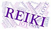 pic of reiki  - Reiki word cloud on a white background - JPG