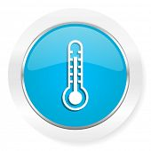 stock photo of temperature  - thermometer icon temperature sign