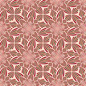 Постер, плакат: Abstract Seamless Pattern With Flower Chrysanthemum