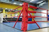 foto of boxing ring  - The image of a boxing ring - JPG