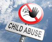image of stop bully  - stop child abuse prevention from domestic violence and neglection end abusing children