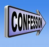 picture of repentance  - confession plea guilty as charged and confess crime testimony or proof truth