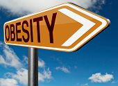 foto of obesity  - obesity and over weight or obese people suffer eating disorder and can be helped by dieting
