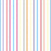 stock photo of striping  - Seamless pastel stripes vector background or tile pattern illustration - JPG