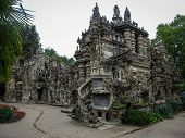 picture of postman  - Image of ideal Palace of Postman Cheval France - JPG