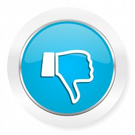 picture of dislike  - dislike icon thumb down sign
