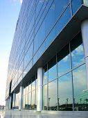 Glas hergestellt-Büro