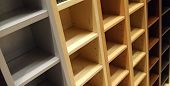 Square Wooden Rack