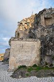 Madonna de Idris Church. Matera.  Basilicata.
