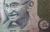 Mahatma Gandhi on 100 rupees banknote