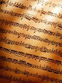 Music background. Ludwig van Beethoven, Sonata No.3