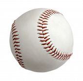 Baseball-Ball, isolated on white background