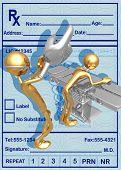 3D Prostate Exam Concept