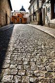 oude straat in Krakau, Polen. Zie meer in mijn portefeuille.