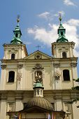 Old Church of Sts. Florian in Krakow. Poland