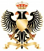 Eagle. Royal Coat of Arms