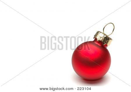 Постер, плакат: Рождественские украшения изолированные, холст на подрамнике