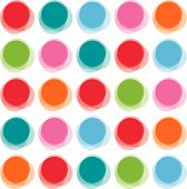 Blur Color Party Dots (Vector)