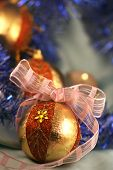 foto of cozy hearth  - Chrismas eve decoration decorated december cupping cozy celebration bulb ball background angel - JPG