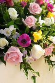 Wedding Flowers Display