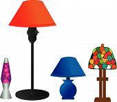 Series Of Desk Lamps