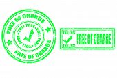 Free Of Charge Stamp