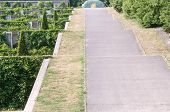 Access ramp.