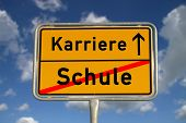 German Road Sign School  And Career