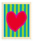 Carimbo de coração