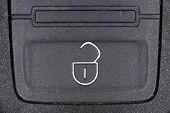 Unlock button on key fob