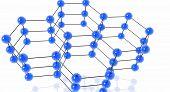 Molecules. Hexagonal Pattern