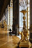 Palace Versailles In France,  Interior