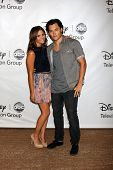 LOS ANGELES - AUG 7:  Alexandra Chando, Blair Redford at the Disney/ABC Television Group Summer Pres