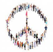 Antiwar Peace Concept
