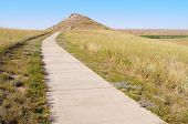University Hill and Carnegie Hill buttes