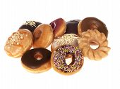 Selection of Mixed Doughnuts
