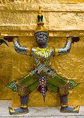 Demon Statue, Thailand