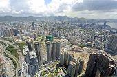 Kowloon Aerial View, Hong Kong
