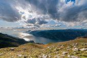 Lake Garda With Dolomites