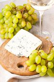 Blue Cheese And Grapes