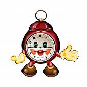 cute cartoon clock