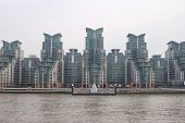 Tower Blocks At Vauxhall. London. UK
